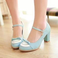 2014 Cute Bow Lolita Shoes. Three Colours Available from Moooh!! | shopswell