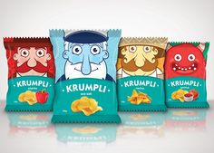 Snack Packaging on Behance