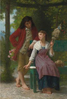 Elizabeth Jane Gardner Bouguereau, Inainte de casatorie