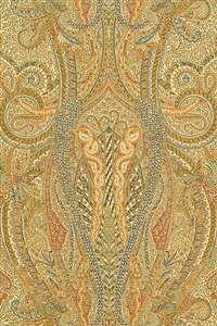 Schumacher Wallpaper | 5004191 | Emile Cachemire | Spice | Mahones Wallpaper Shop