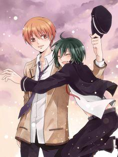 Angel Beats! - Ayato Naoi (直井 文人) & Yuzuru Otonashi (音無 結弦)