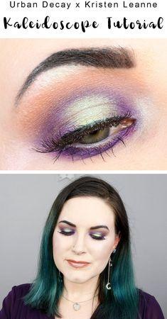 Urban Decay Kaleidoscope Tutorial - Purple & Green Halo Eyes #EyeMakeupBlue Eye Makeup Designs, Eye Makeup Art, Eye Makeup Tips, Makeup Ideas, Makeup Tutorials, Makeup Inspiration, Beautiful Eye Makeup, Natural Eye Makeup, Natural Lashes