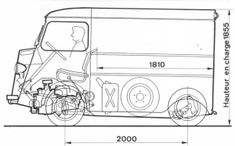 This page lists what we have learnt about Citroen HY History. While we will aim for a period feel on our Camper conversion it will showcase our Electronics skills by using Schaudt Elektroblock technology. Citroen Van, Citroen Type H, Seat 127, Land Rover Santana, Subaru, Prosecco Van, Hot Wheels, 4x4, Mini Bus