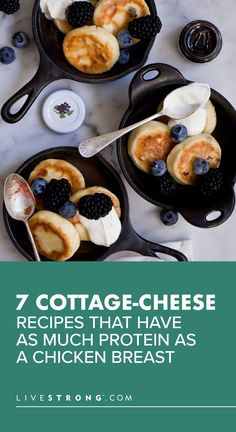 We guarantee these seven healthy high-protein cottage cheese recipes (both sweet and savory) will change your mind about this underrated dairy product. Chef Recipes, Appetizer Recipes, Cooking Recipes, Cooking Tips, Savoury Recipes, Recipes Dinner, Veggie Recipes, Crockpot Recipes, Keto Recipes