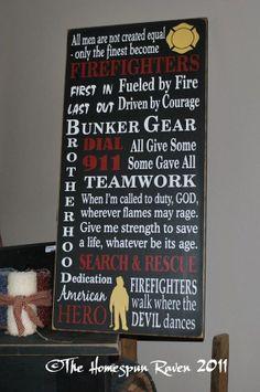 fire fighters...love it