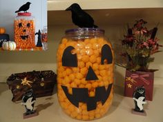 Halloween party snack - cheese balls