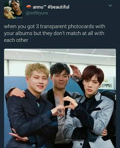 Can't relate since I'm too broke to buy their albums
