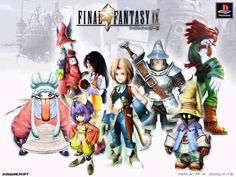 My favourite ff game by far. I loved it and really hit the nostalgia factor after 7 and 8.