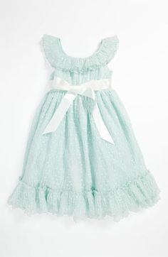 My something blue? Nina and Emma Laura Ashley Mint Dress (Little Girls) available at Nordstrom