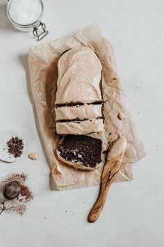 Vegetarian Chocolate, Vegan Chocolate, Just Desserts, Dessert Recipes, Chocolate Loaf Cake, Peanut Butter Frosting, Cake Tasting, Eat Dessert First, Tea Cakes