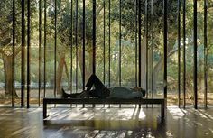 Windover built a contemplative center on its by California campus by Aidlin Darling Design.