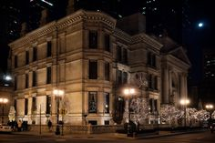 """Nickerson House (1883), 40 East Erie Street, Chicago, Illinois     $450K, 24,400-sq.ft. Renaissance Revival mansion, known as """"Marble Palace,"""" designed by Burling and Whitehouse, Chicago • Edward Burling (1819-1892) one of city's earliest architects • Francis Meredith Whitehouse (1848-1938), jr. partner • built for Samuel Mayo Nickerson, distillery magnate, made fortune selling liquor to Union Army during Civil War   largest private residence in Chicago at time of completion • fireproof…"""