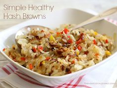Simple Healthy Hash Browns - The Nourishing Home