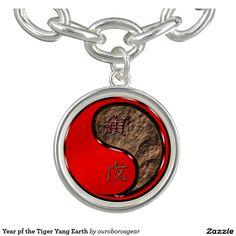 Year pf the Tiger Yang Earth Bracelet