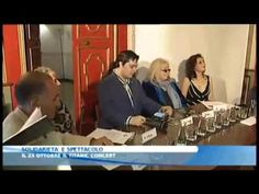 FALANTHRA PRESENTA ...TITANIC LIVE CONCERT Emozioni visive (VIDEO DI BLU STAR TV) - RJ Gibb and Dwina Gibb recently visited Taranto in Italy, where the first concert will take place, to participate in the press announcement and launch event - YouTube