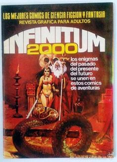 INFINITUM 2000 Nº21 (Tebeos y Comics Pendientes de Clasificar)