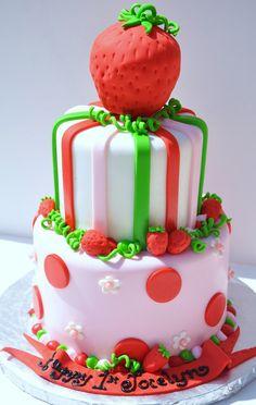 https://flic.kr/p/9xXidu   Strawberry Shortcake Cake   www.thecakemamas.com