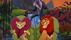 Kiara Lion King, The Lion King 1994, Lion King Fan Art, Lion King 2, Disney Lion King, Wolf With Red Eyes, Disney Cats, Disney Pixar, Lion King Drawings