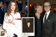 Latino film star Calu Rivero, 29, took a Polaroid pic of the rocker and later shared it on social media - 24.02.2017 https://www.thesun.co.uk/tvandshowbiz/2960801/sir-mick-jagger-spent-pre-oscars-party-hosted-by-colin-firth-flirting-with-stunning-argentinian-actress-44-years-his-junior/