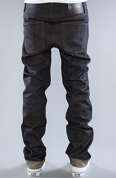 The Skinny Guy Jeans in Hemp Blend Selvedge Wash by Naked & Famous