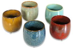 Japanese tea cups in a set - lovely for you or a gift -- from Still Sitting Meditation Supply