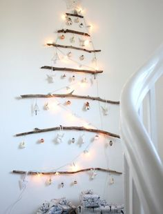 Small Space Solutions: Creative Christmas Tree Ideas for Tiny Homes | Apartment Therapy