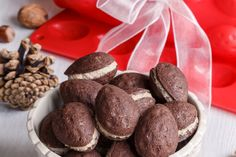Sweet Recipes, Stuffed Mushrooms, Cookies, Chocolate, Vegetables, Christmas, Food, Cupcake, Decor
