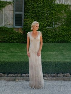 Great Gatsby inspired (1920s) wedding dress