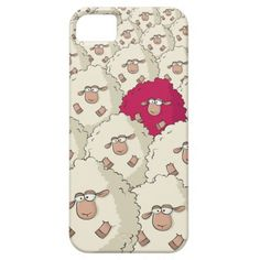 Sheeps Pattern iPhone 5 Cases