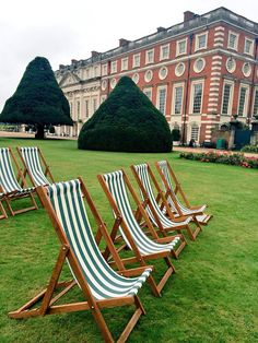 Bbc good food festival at Hampton Court Palace. www.anywheredeckchairs.co.uk