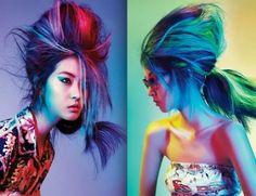 colores pelo loco | PEINADO MUY LOCO Y COLORIDO! | ¡Es Mi Onda - Revista Digital!