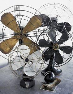 Love love love vintage fans!