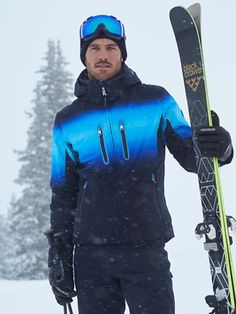 Shop our exclusive collection of men's designer ski jacket! Parkas, coats, down. Ski Fashion, Mens Fashion, Mens Ski Wear, Snowboarding Outfit, Well Dressed, Winter Boots, Parka, Skiing, Active Wear