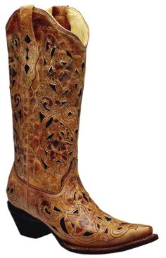 If I were a Cowgirl... These would be the boots I'd want! :)