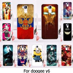 Soft TPU Silicone Phone Case For Doogee Y6 Y6C Y6 Pro 5.5 inch Case Mobile Phone Cover Housing Smartphone Shell