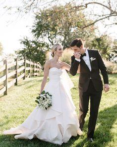 The Bride Wore Oscar de la Renta and Took Everyone's Breath Away!
