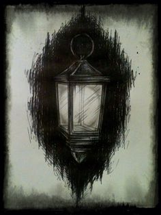 """Wide Awake"" #ChrisMonteith #WideAwake #Lantern #Dark"