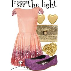 """I see the light"" by lalakay on Polyvore"