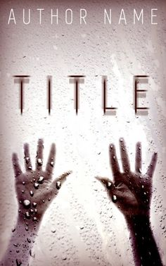 Thousands of unique premade thriller & suspense book covers created by professional designers. Each book cover is exclusive and sold only once! Premade Book Covers, Book Cover Design, Thriller, Window, Hands, Graphics, Writing, Books, Libros