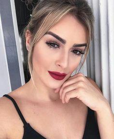 @blogbrunalucena #look #makeup #maquiagem #redlips #loiras