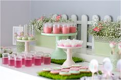 Little Big Company The blog: Pink and Mint Butterfly Garden Party by Andreia & Bruno from Pormagia