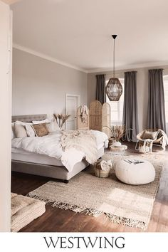 Home Interior Industrial .Home Interior Industrial Bedroom Ideas For Teen Girls, Room Ideas Bedroom, Home Decor Bedroom, Bedroom Designs, Ikea Bedroom, Bedroom Furniture, Modern Bedroom, Simple Bedrooms, Bedroom Rugs