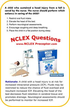 Tips for registered nurses passing NCLEX. Bonus practice NCLEX questions and rationales. www.nclexpreceptor.com #NCLEXCoreMeasures