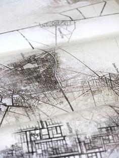 Tarek Abdelkawi, Editorial illustrations: Maps for Magaz on Behance