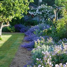 french country landscape design ideas | French Country Garden Decorating Photograph | French Country
