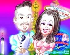 Happy New Year! See the party caricatures I drew for this NYE Vegas theme bash https://facebook.com/pages/Caricature-Artist/65878249487 Http://Caricature.social
