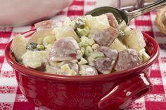 Sweet Pickle Potato Salad   mrfood.com