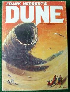 Dune. Long and a bit complex, this is a classic in Sci-fi.