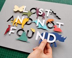 I created a one off piece of artwork, exhibited in Wieden + Kennedy Amsterdam's 'Lost and not Found' exhibition in support the Rainforest Trust 3d Paper Art, Paper Artwork, Diy Paper, Paper Crafts, Cut Out Art, Diy And Crafts, Arts And Crafts, Paper Cutting, Lettering