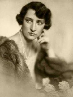 księżniczka szwedzka Märtha - przyszła żona księcia koronnego Norwegii Olava - 1928r.